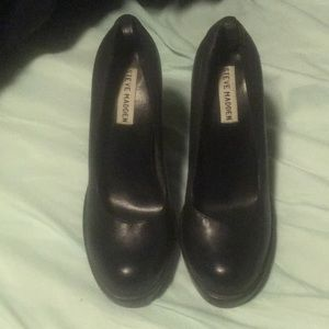 "Steve Madden Blanche 4 1/2"" heels. Size 7"